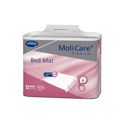 Hartmann MoliCare Premium Bed Mat Υποσέντονο μιας χρήσης με φτερά 60x90 30τμχ. (Πάλιος κωδικός Molinea Plus 90x180)
